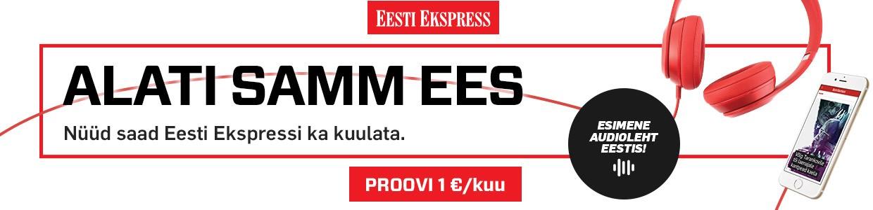 Esimene audioleht Eestis!