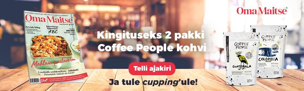 Oma Maitse kohvikampaania